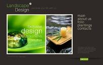 欧美景观设计网站网页源码