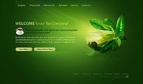 欧美茶叶公司网站网页源码