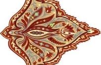 树叶形状的花纹