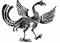 古代雕刻凤凰图案