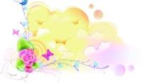 矢量彩色花纹图片