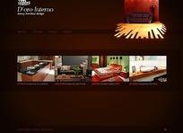 欧美装饰企业网站网页源码