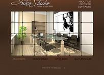 欧美装饰行业网页设计模版
