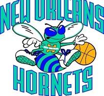 新奥尔良大黄蜂队标志