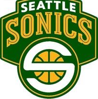 西雅图超音速队球队标志