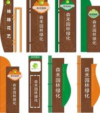 森禾园林绿化路牌设计图