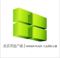 北京万达广场标志设计