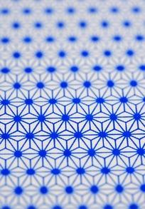 蓝色四方连续图案布料素材