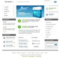 欧美软件行业网站网页源码