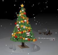 欧美圣诞网站导航页设计源码