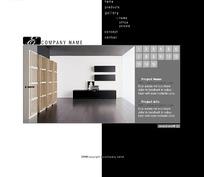 欧美室内装饰公司网站网页源码