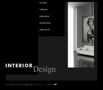 欧美室内装饰网站网页源码