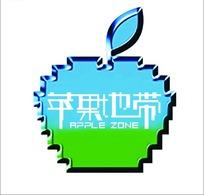 苹果地带标志设计