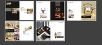 室内设计画册模板