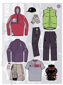 运动服饰矢量插画海报EPS素材