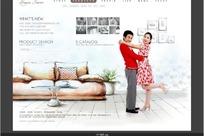 韩国室内装饰公司网站网页模版