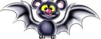 黑色可爱的卡通蝙蝠