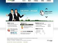 创意设计网站网页模板