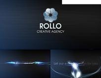 罗洛创意代理网页模板