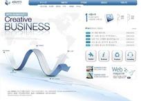 数字创意业务网站网页模板