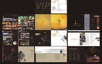 VIP画册大气设计CDR