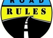 道路交通规则标志logo设计