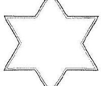 六角形黑色线条图案边框矢量素材