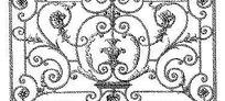 欧式门框图案花纹设计模板