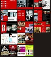 门业画册设计CDR模板