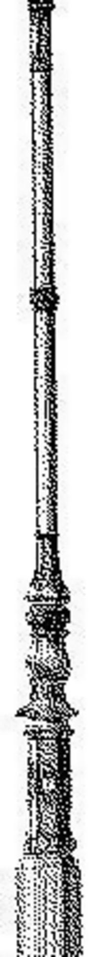 欧式花饰柱子传统图案矢量素材
