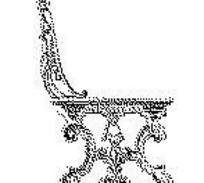 欧式椅子传统图案矢量素材