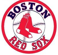 波士顿红袜职棒大联盟球队logo标志设计