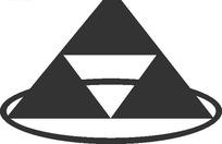 钢材公司logo矢量模板