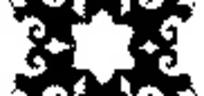 六角形精美欧式图案花设计模板