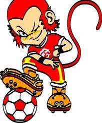 足球标志logo设计