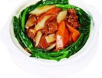 萝卜牛腩煲psd分层素材