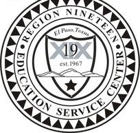 十九区教育服务中心logo矢量模板