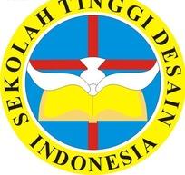 印尼设计高中矢量logo模板