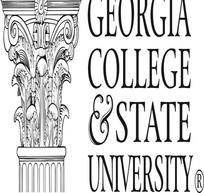 佐治亚大学州立大学logo矢量模板