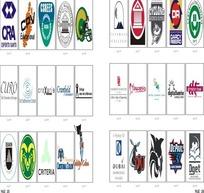国外矢量logo素材模板