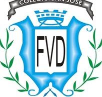 学校圣何塞矢量logo素材