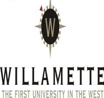 威拉米特在西部的第一所大学logo素材