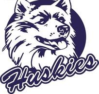 狼头图案标志设计