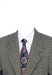 男士西服领带正装上衣搭配