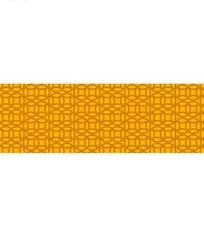 黄色调铜钱图案[财源广进]