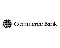 commerce bank商业银行黑色LOGO