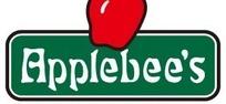 红色苹果绿底APPLEBEE'S英文图标EPS矢量文件