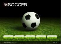 欧美足球爱好者网站网页源码