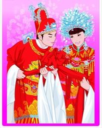 矢量传统婚礼图片