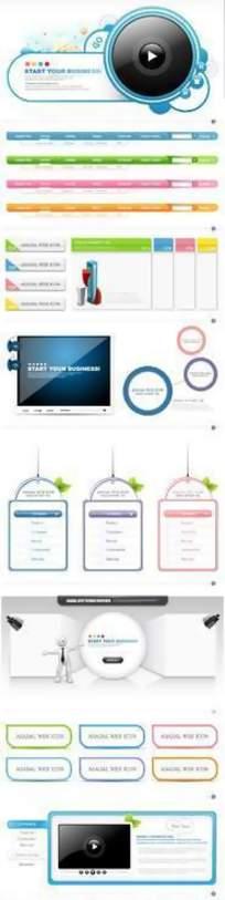 网页标识设计模板